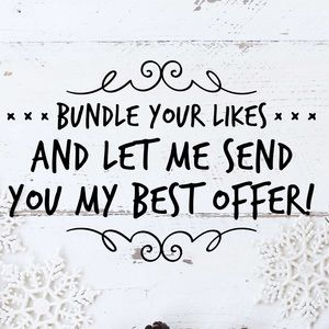 Create a bundle and let me give you my best price!